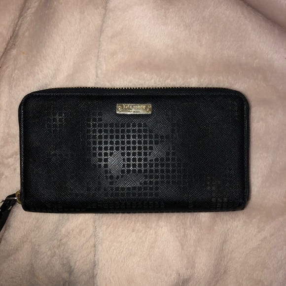 kate spade Handbags - black kate spade wallet
